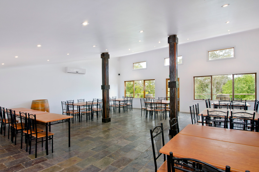 Dining Hall in Reception/Meeting Building