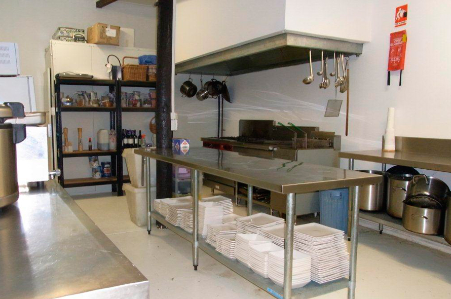 Commercial Kitchen in Reception/Meeting Building
