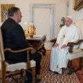 featured image Pompeo and Pope Francis Urge Religious Freedom in Middle East