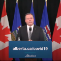 featured image Alberta Premier: People aren't allowed visitors to their homes, they'll be fined if they do