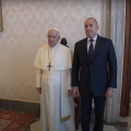 featured image Pope Francis meets with the President of Bulgaria