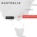 featured image Un Terremoto de Magnitud 5,9 Sacude Australia, el Más Grande en Años
